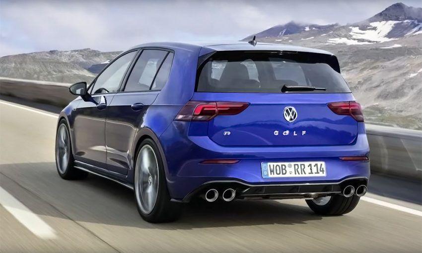 Volkswagen Golf 8 R Va Fi Dezvăluit In 2020 245 Kw Volkswagen