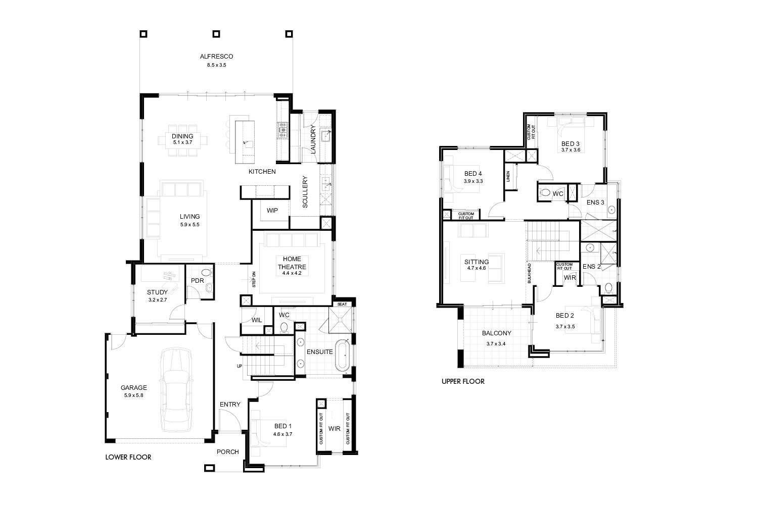 Pin By Joseph On Projects To Try Floor Plans House Design Storey Homes