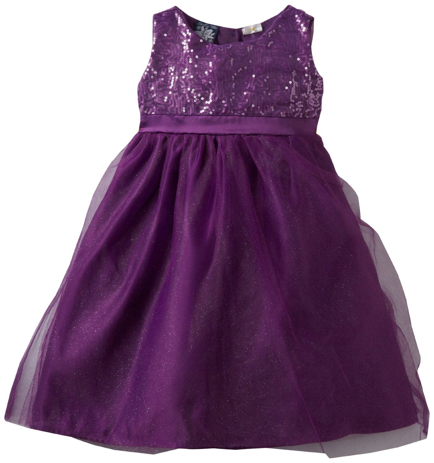 So La Vita Baby-Girls Infant Sequined Bodice Tiered Dress | Ava ...