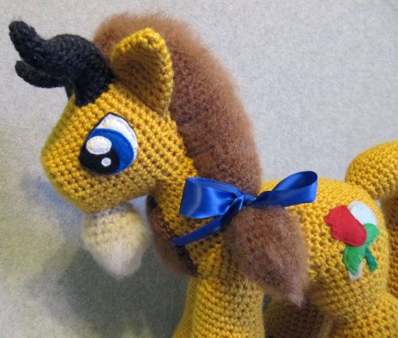 Beast Pattern My Little Pony by NerdyKnitterDesigns on Etsy | Fun ...