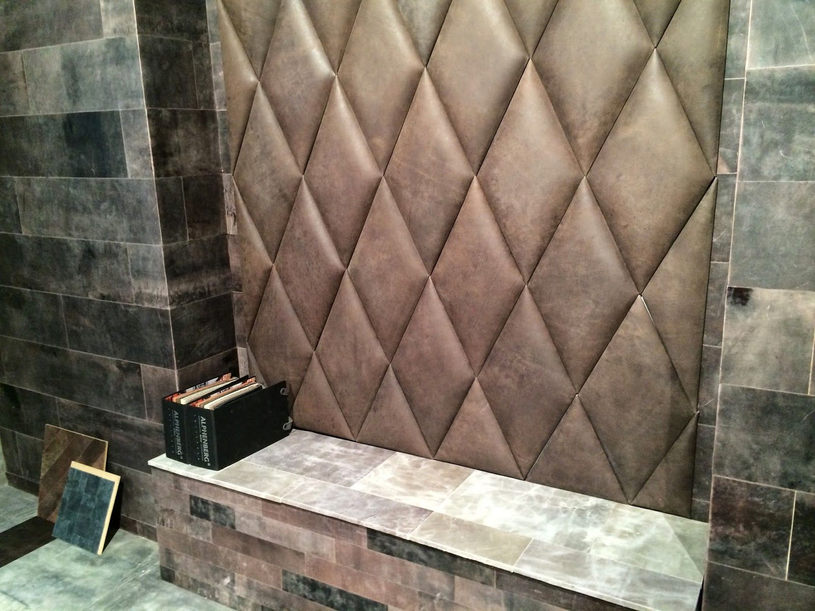Smarter Alec: Alphenberg Leather Wall And Floor Covering ...