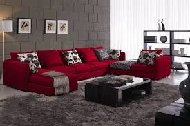 Image Result For Contemporary Decorating Ideas Red Sofa Red Sofa