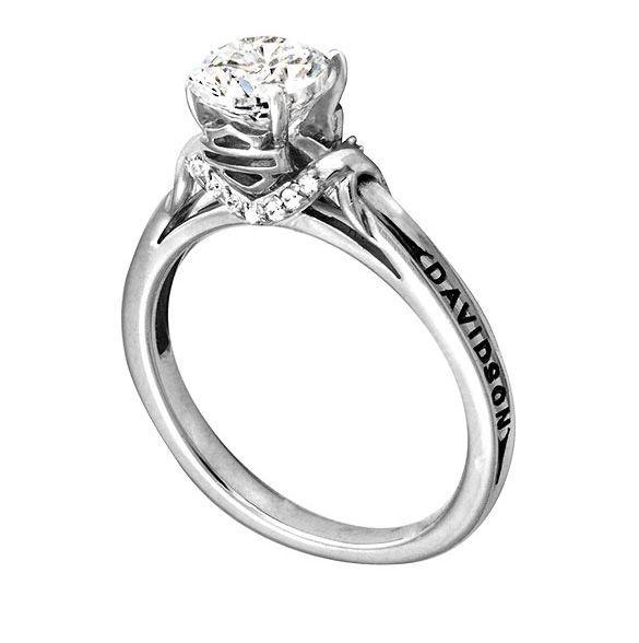 Harley Davidson Wedding Rings
