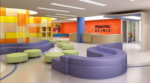 ijn pediatric clinic | office interiors, interiors and waiting rooms