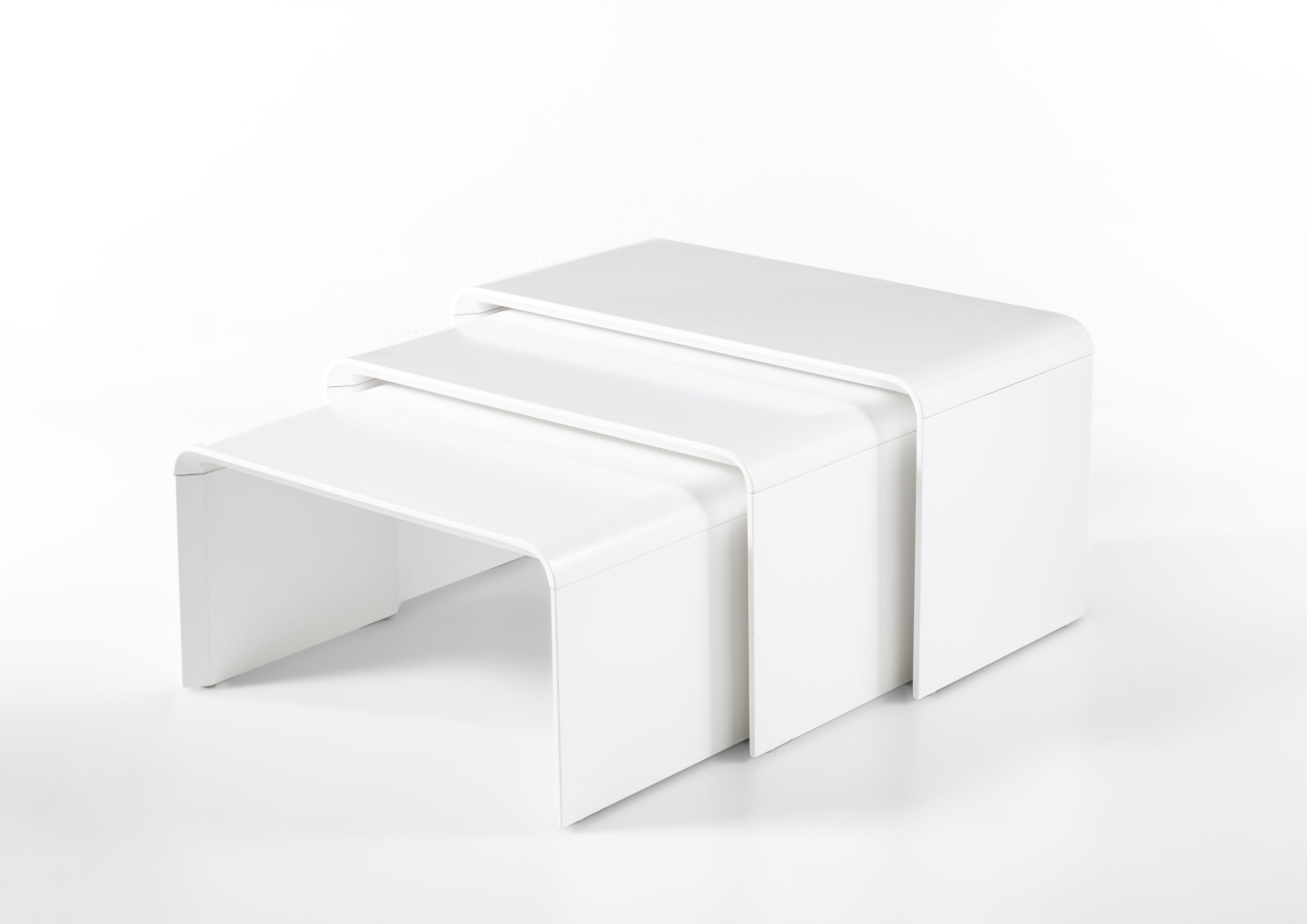 Couchtisch 3er Set Weiss Woody 41 02912 Mdf Modern Jetzt Bestellen