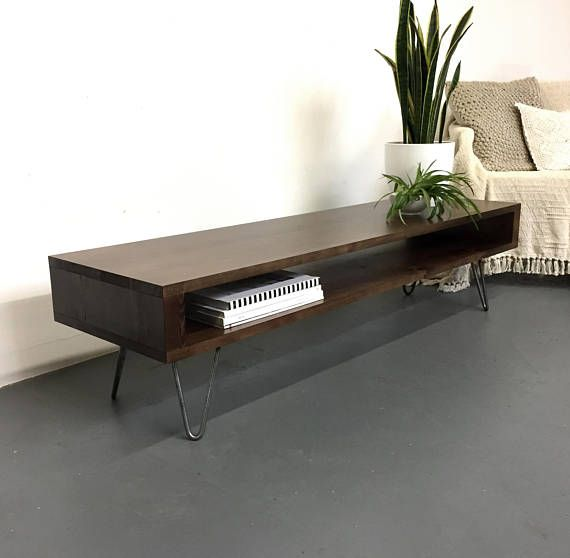 Grote Side Table.Oldfield Low Large Mid Century Style Side Table Coffee Table