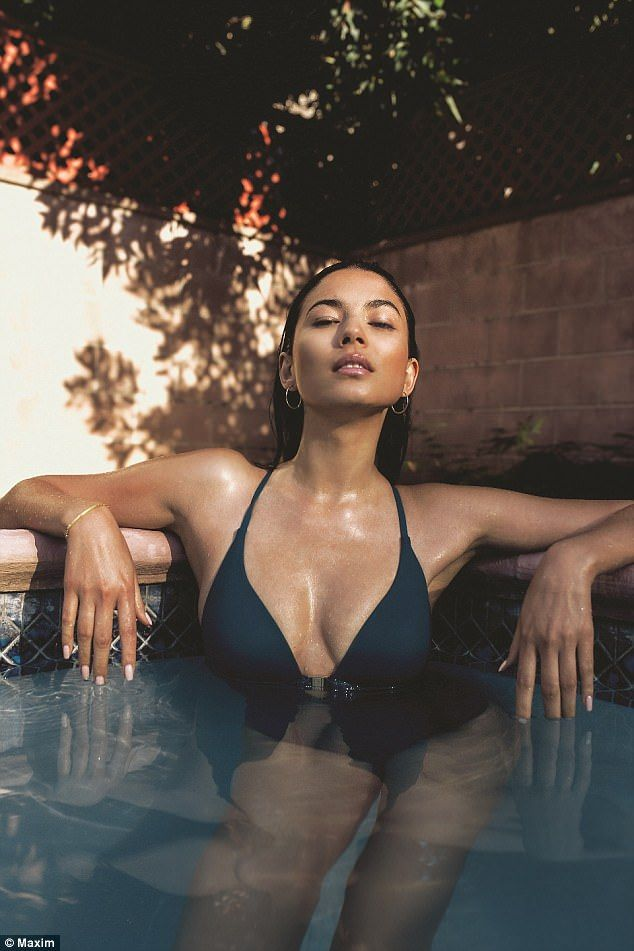 ea2f9749e6c3 A look back at Jessica Gomes raunchiest MAXIM cover shoots | woman ...