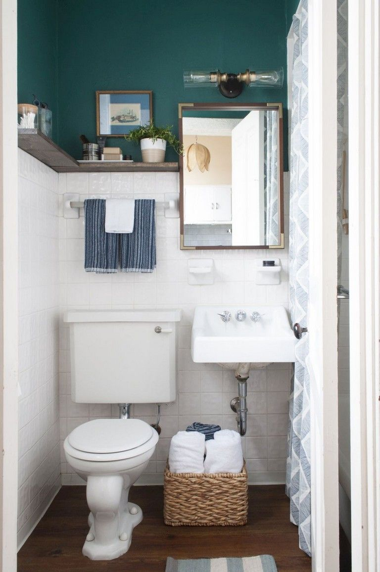 84 Small Apartment Bathroom Decoration Ideas Bathroom Decor Apartment Small Apartment Bathroom Simple Bathroom Decor