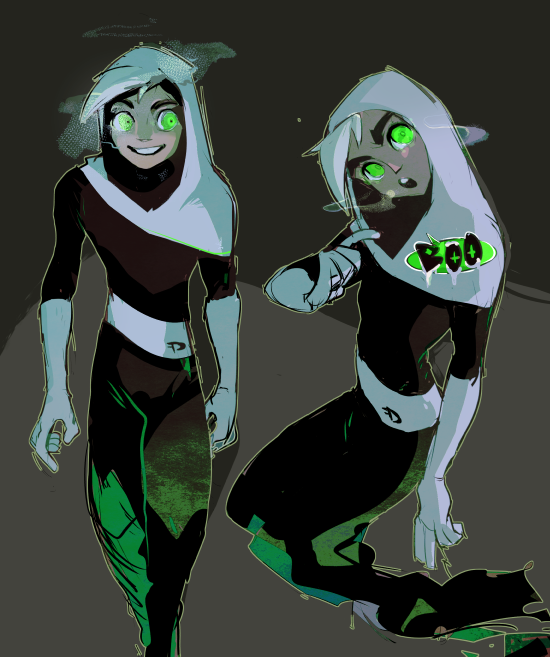 rinsfw:spoopy suit | IM GOIng gHOsT | Pinterest | Danny phantom ...