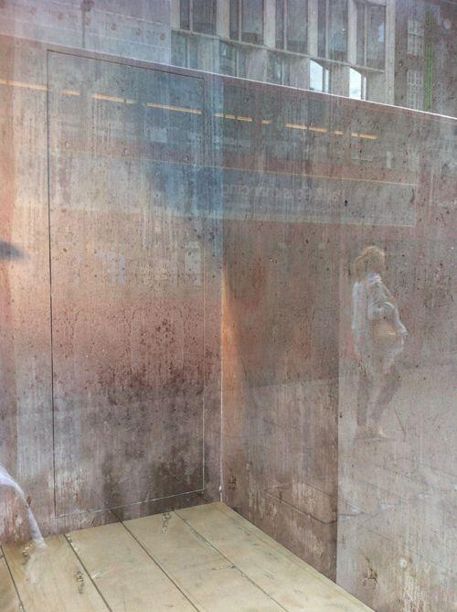 A Question Of Faith Concrete Effect Wallpaper Interior Architecture Design Window Mural Concrete Wallpaper