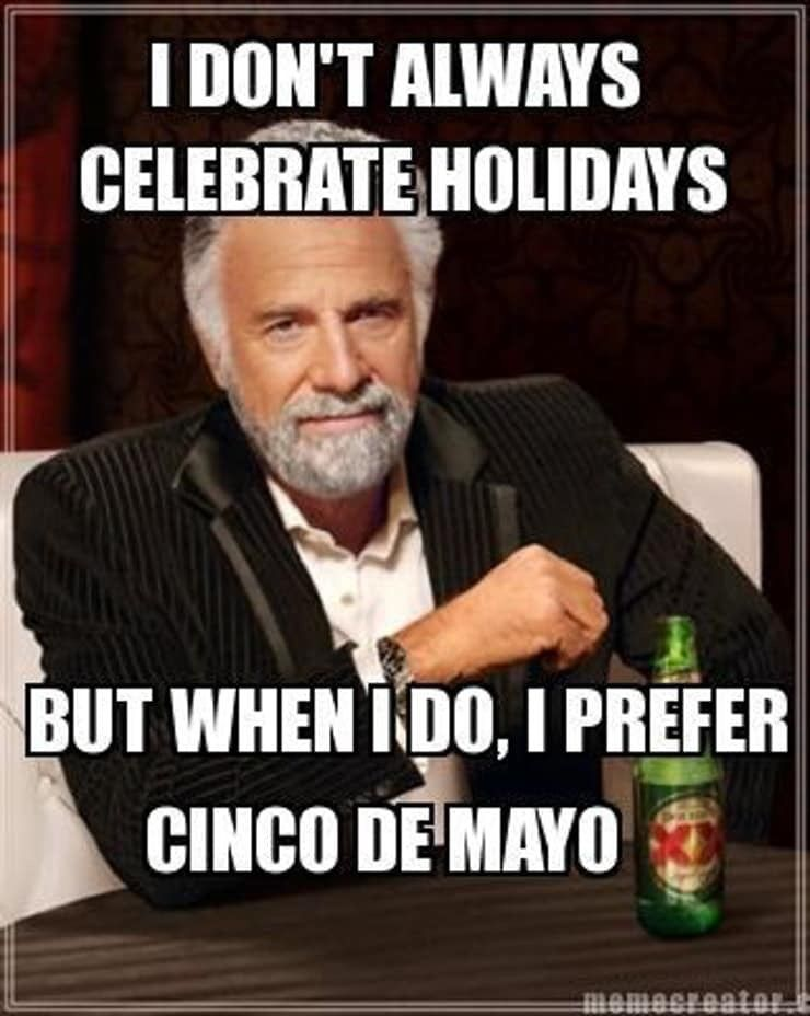 Cinco de Mayo Happy birthday brother funny, Birthday