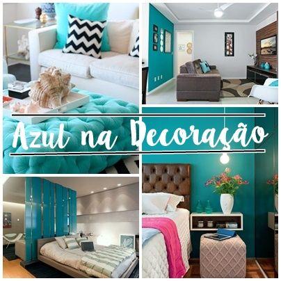 Detalhes da nanny azul turquesa na decora o turquesa e - Sofa azul turquesa ...