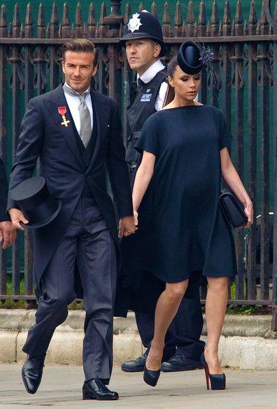 Victoria Beckham Maternity Dress