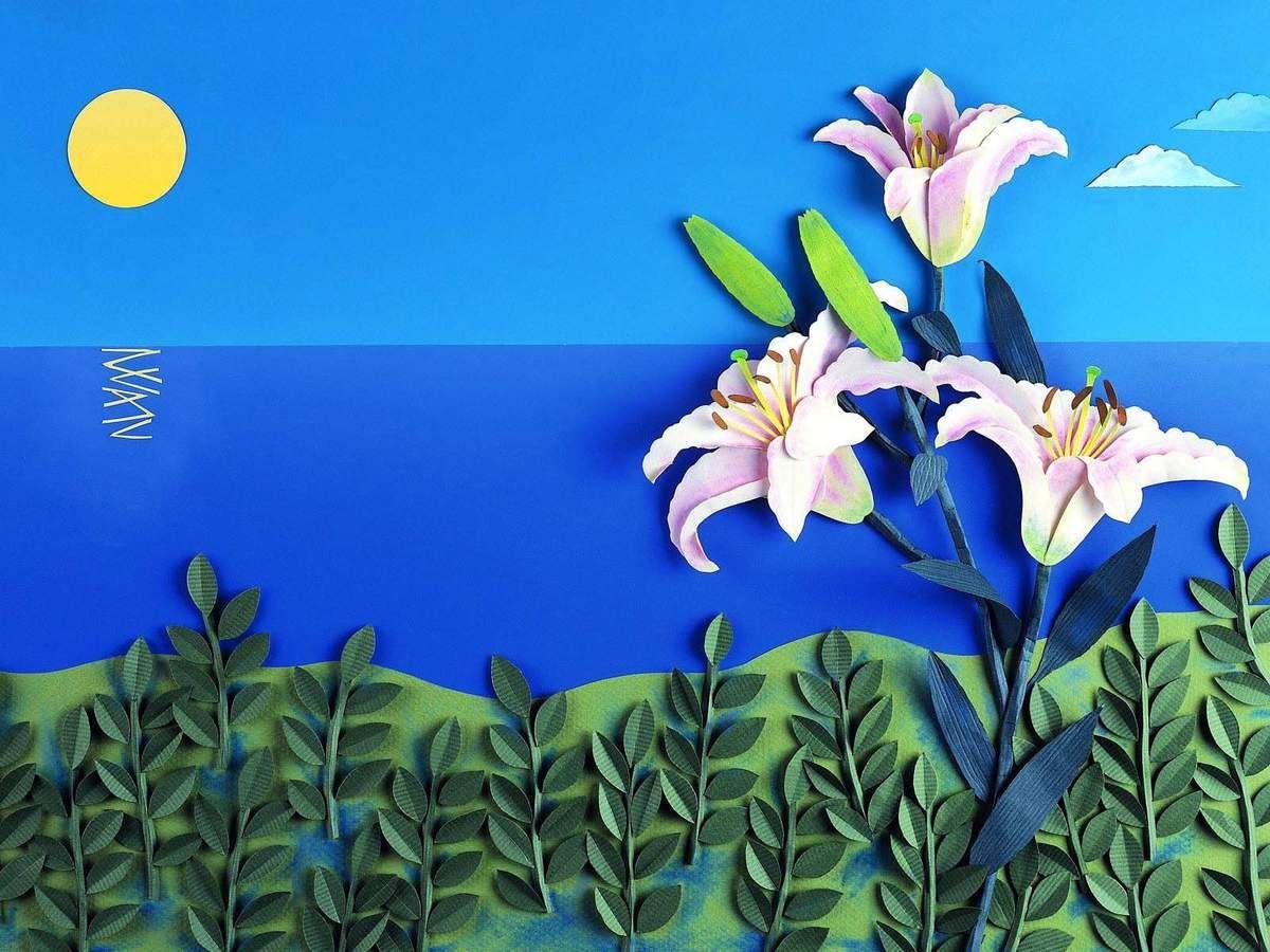 Открытка для малышей 2-3 лет тема цветы, открытке открытка дне