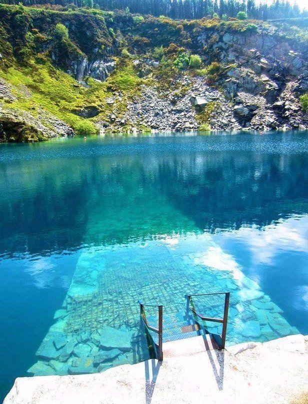 Вход в храм воды в Ирландии #отпуск #отдых #туристическийжурнал