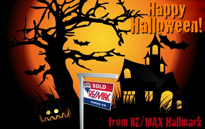 Have A Happy Halloween From Your Friends At Re Max Hallmark Realty Ltd Brokerage Remax Halloween Happy Halloween