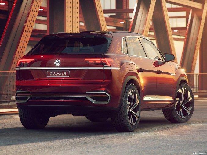Volkswagen Atlas Cross Sport 2018 Vus De Taille Moyenne