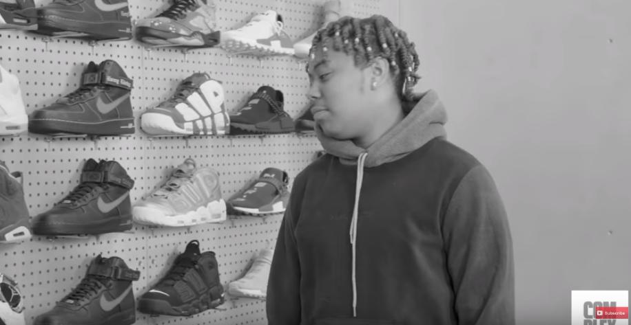 ybn cordae sneaker shopping