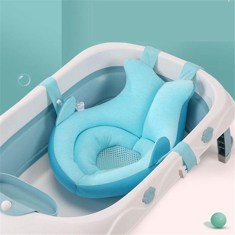 Infant Baby Bath Pad Non Slip Bathtub Mat For Newborn Shower