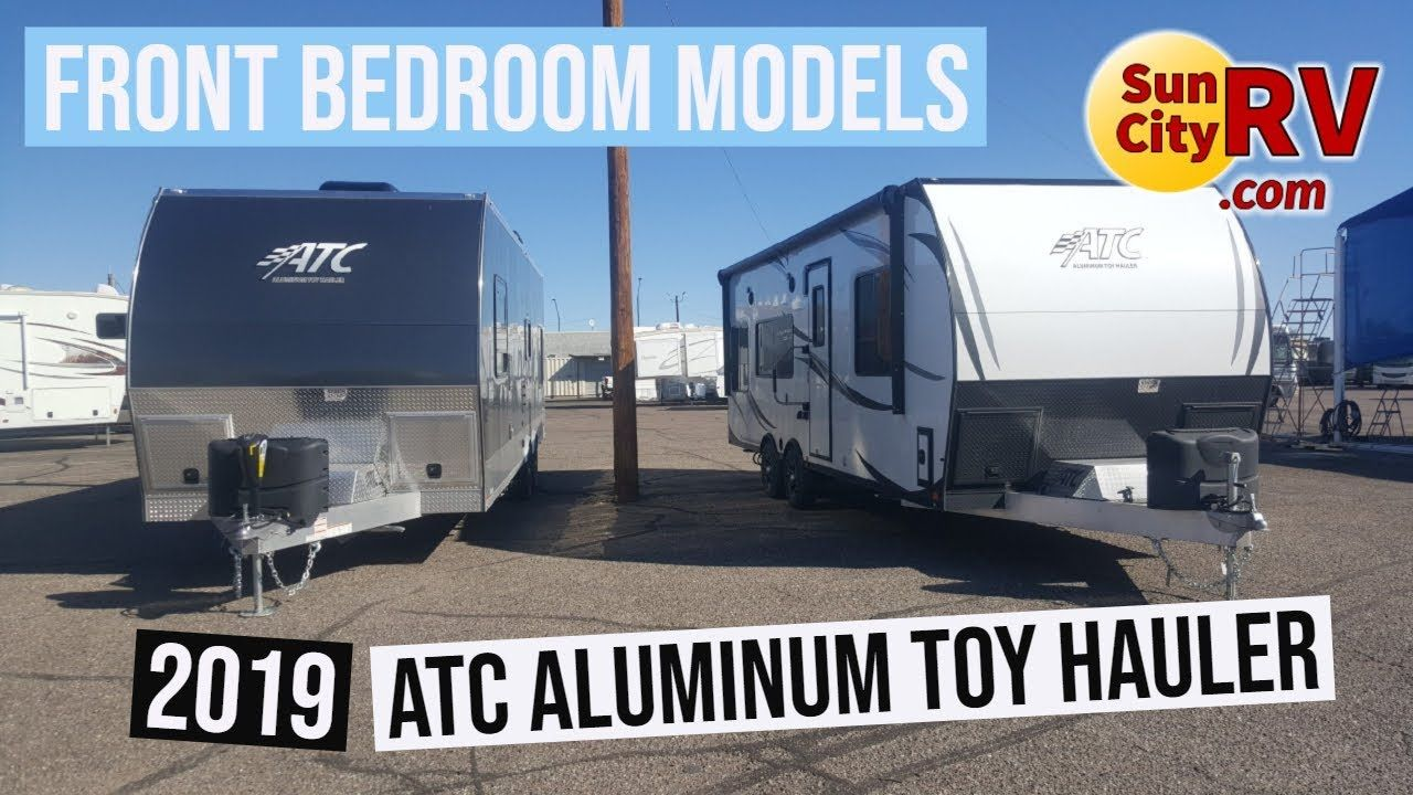 2019 Atc Aluminum Toy Hauler Front Bedroom Units Sun City Rv