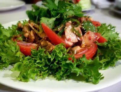 Yum Pla Krapong ยำปลากระป๋อง Canned Fish Salad. Use up t...