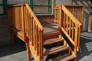 Best Redwood Deck Deck Redwood Decking Deck Stairs 400 x 300