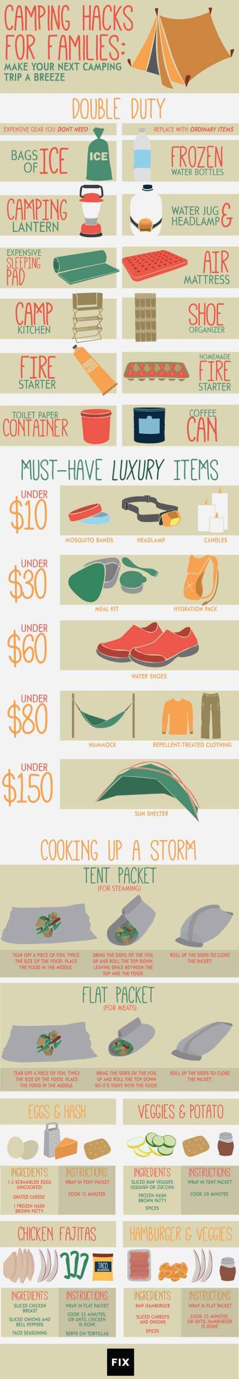 Photo of Camping Hacks for Families | Camping Hacks To Make Life Easier