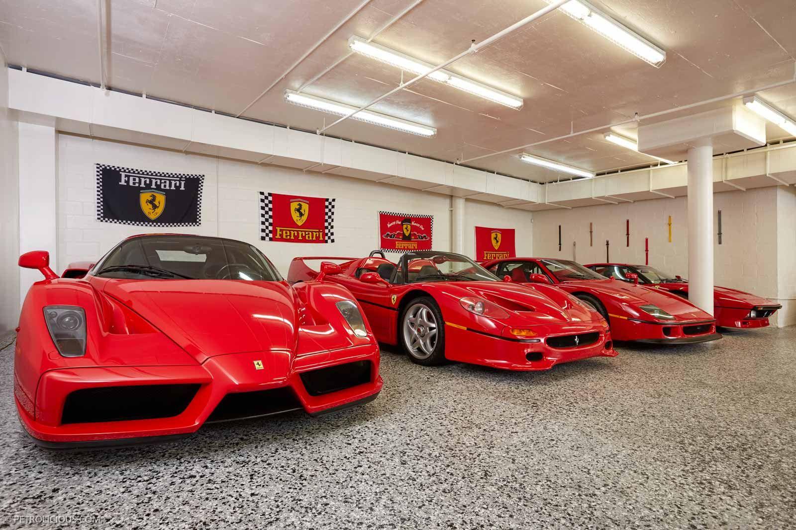 Garage Cristiano Ronaldo Car Collection - CARCROT