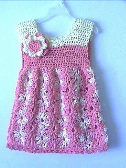 Crochet Baby Dress Patterns Crochet Pattern Central Free Baby