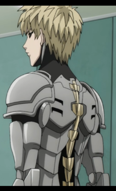 one punch man genos s back episode 5 genos references pinterest