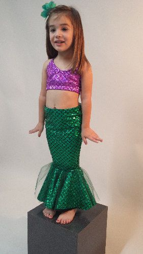 Mermaid Skirt! Add on Bikini Top! FAST SHIPPING