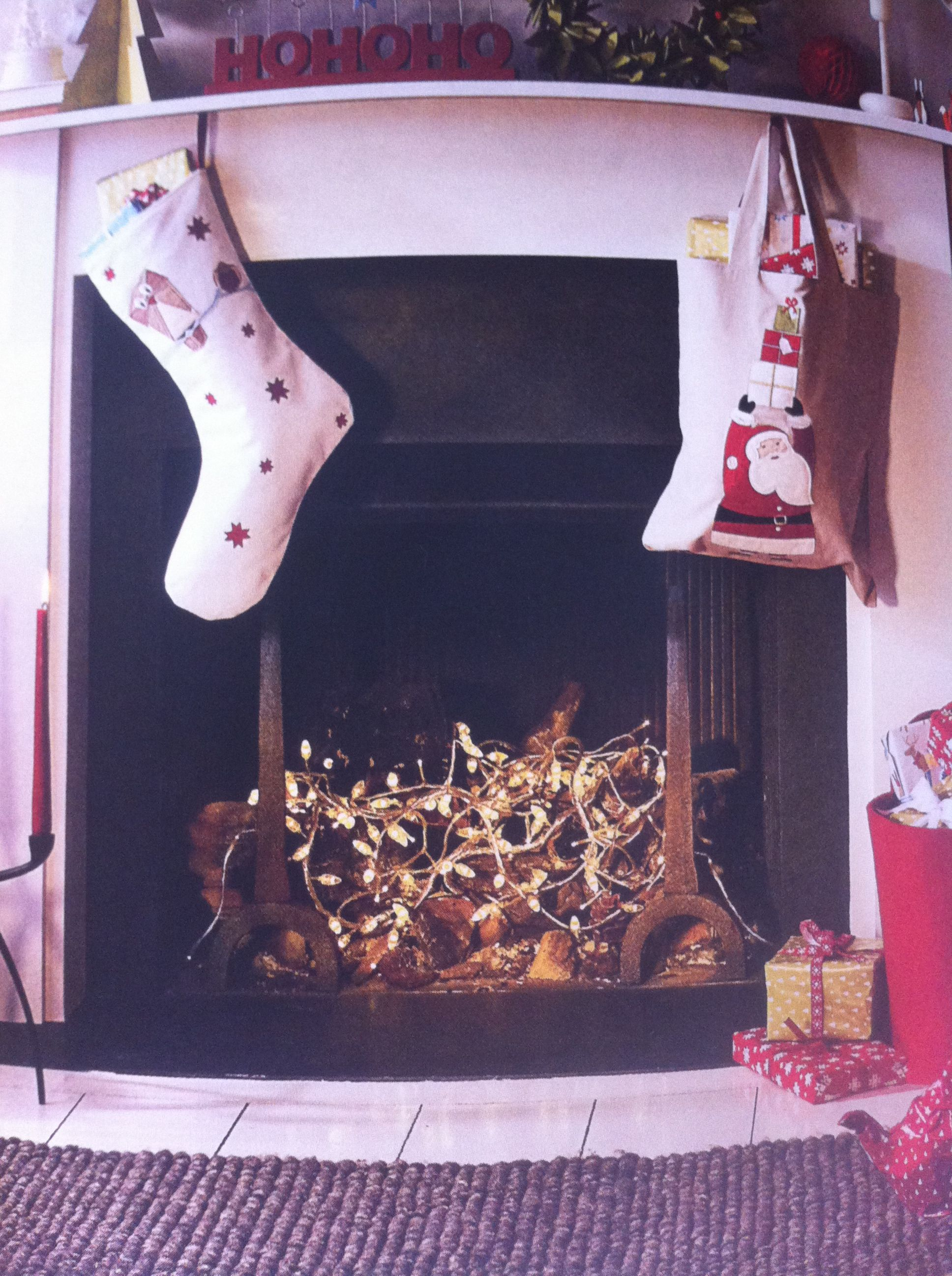 fireplace fairy lights john lewis home for the holidays