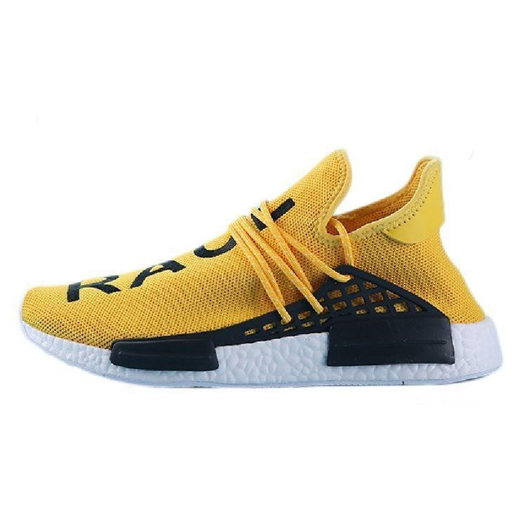 99b6ef0b0f3a1 Pharrell Williams X adidas NMD HUMAN RACEorange white S79162 Mens