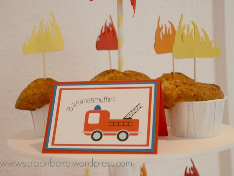 {Tatü Tata} – Die Party | Scrap'n'bake | Kids party themes ...