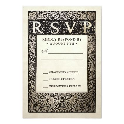 rsvp cards for weddings