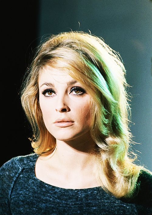 A gorgeous promotional shot of Sharon, taken while she was filming Eye Of The Devil in 1966.