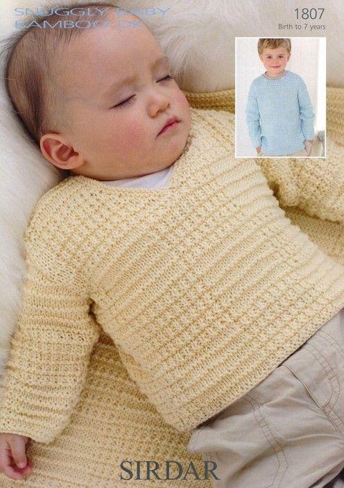 Sirdar   sweteres bebes   Pinterest   Tejido, Tejidos bebe y Bebe