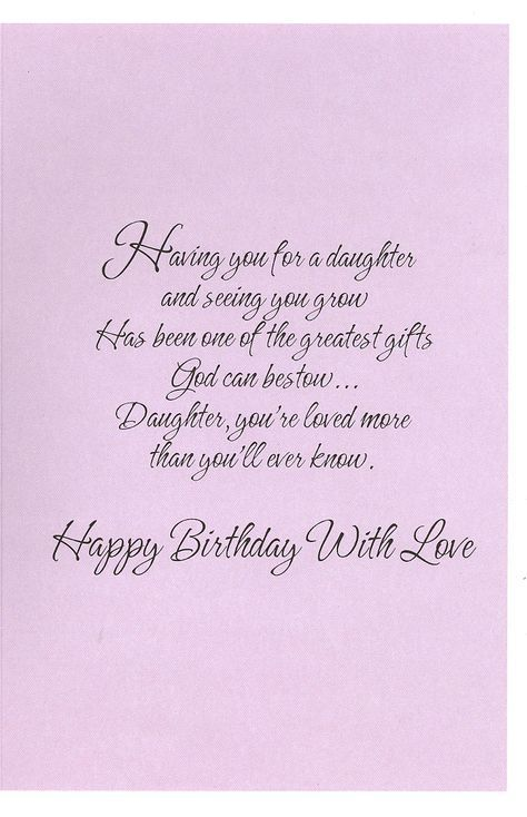 Christian Birthday Cards For Daughter Google Search Birthday