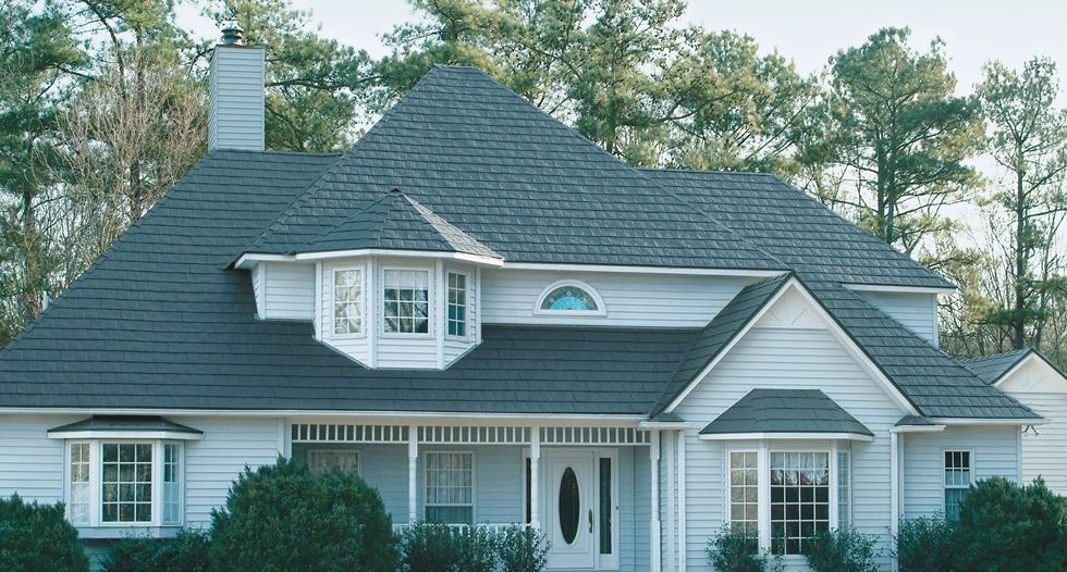 Stonecrest 174 Slate In Vermont Blue Roof Shingles