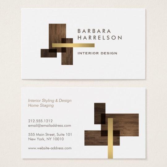 Modern Architectural Interior Design Logo Business Card Zazzle Com Interior Designer Business Card Interior Designer Logo Visiting Card Design