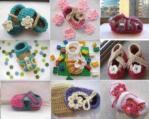 Crochet Pattern Booties Any 2 Crochet by CrochetBabyBoutique, $7.99