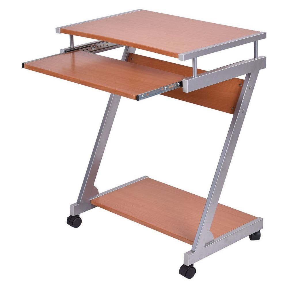 Computer Desk Laptop Table Work Station Portable Rolling Home Office Furniture Unbranded With Images Office Furniture Sale Office Furniture Desk