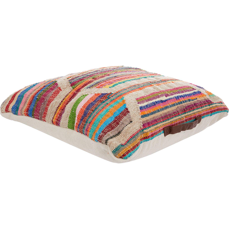 Striped Floor Cushion 75x75cm Tk Ma