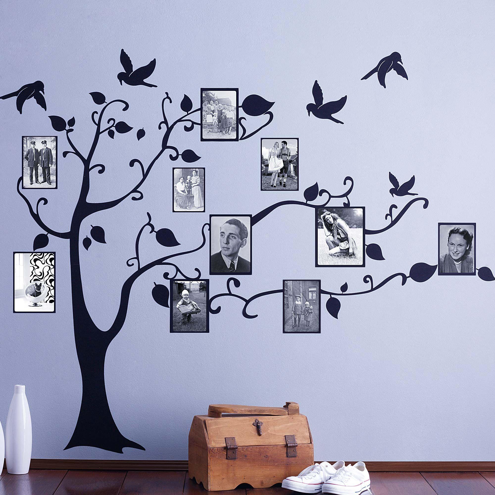 единственные генеалогическое древо из фотографий на стене настоящее время