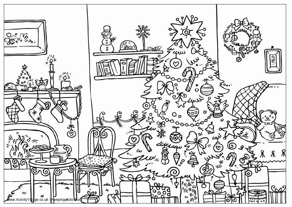 Coloring Pages Printable Hard Free Christmas Coloring Pages Christmas Coloring Pages Christmas Tree Coloring Page
