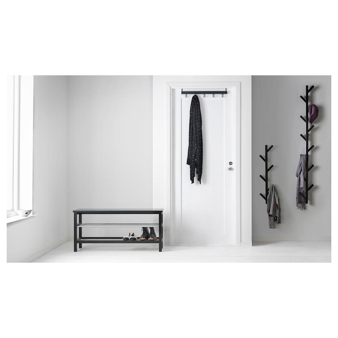 Ikea Tjusig Black Hanger