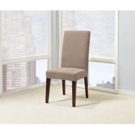 Sure Fit Stretch Crocodile Short Dining Room Chair Slipcover Extraordinary Stretch Covers For Dining Room Chairs Review