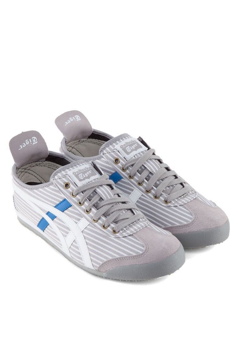 ONITSUKA TIGER Mexico 66 Striped Sneakers Mexico 66間條運動鞋