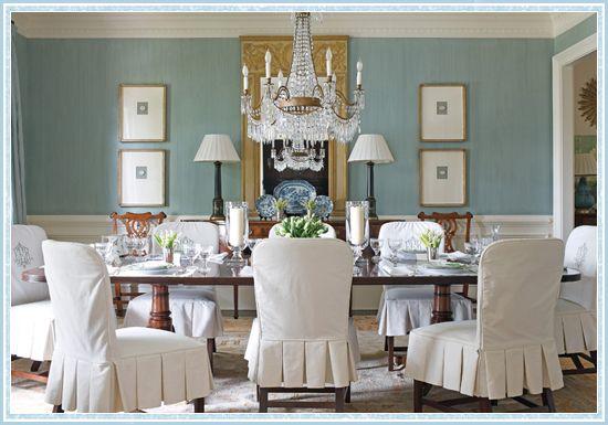 Formal Dining room Dining room Pinterest Traditional, Blue