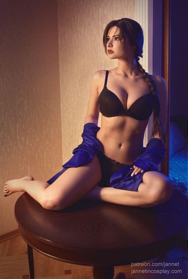 Сексуальные косплеи Лары Крофт